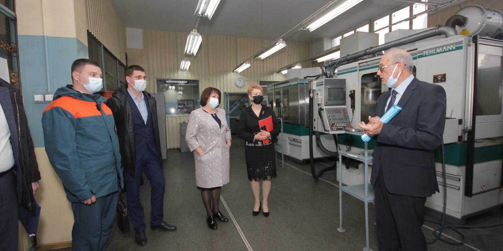 Всемирный день охраны труда на заводе «Фиолент»